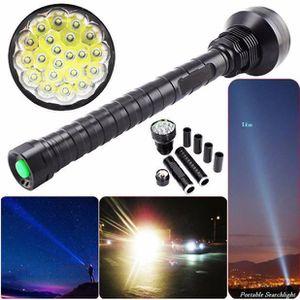 LAMPE DE POCHE 28000LM XM-L LED 21x T6 super Lampe torche lumière