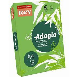 PAPIER IMPRIMANTE Papier A4 Adagio Rey 160g couleur vert intense