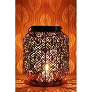PHOTOPHORE - LANTERNE Petite Lanterne marocaine en métal Baghira 26cm no