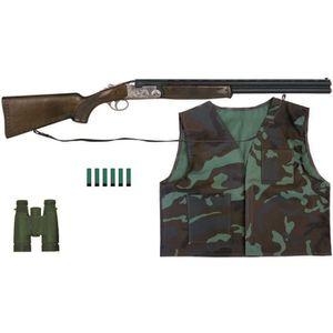 ARC À FLÉCHETTE MOUSSE Coffret fusil et accessoires de chasse Hunter pour
