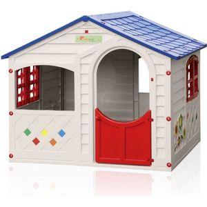 MAISONNETTE EXTÉRIEURE Maisonnette en plastique pour enfants jardin exter
