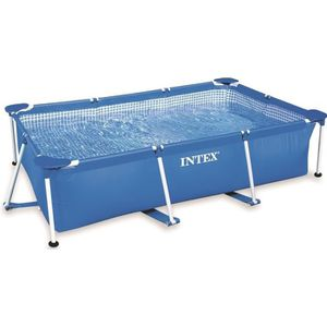 PISCINE INTEX Piscine rectangulaire tubulaire - 220 x 150