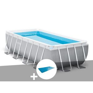 PISCINE Piscine tubulaire Intex Prism Frame rectangulaire
