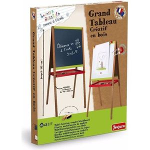 TABLEAU ENFANT JEUJURA  - 8747 -Grand tableau créatif en bois ave