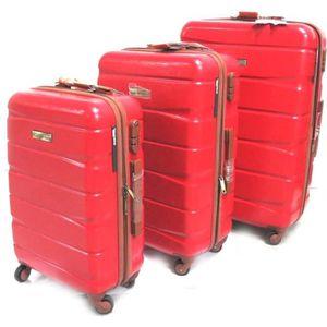 VALISE - BAGAGE Murano [N0170] - Set de 3 valises trolley ABS Mura