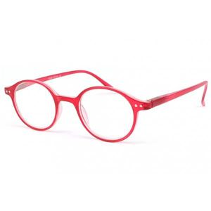 LUNETTES DE LECTURE Lunette loupe ronde Rouge transparent Flex - Rouge