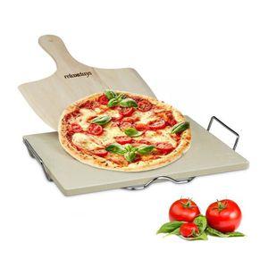 FOUR À PIZZA Relaxdays 10020488  Pierre à pizza 1,5 cm épaisseu