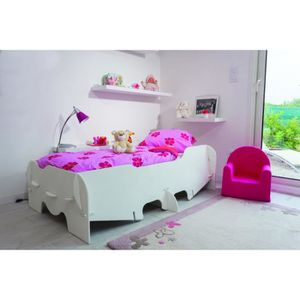 lit enfant blanc achat vente lit enfant blanc pas cher. Black Bedroom Furniture Sets. Home Design Ideas