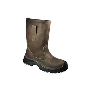 BOTTE Botte non fourree zeus s3 ci marron pointure 47