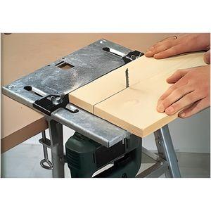 SCIE ÉLECTRIQUE WOLFCRAFT Table de scie sauteuse - 320 x 300 mm