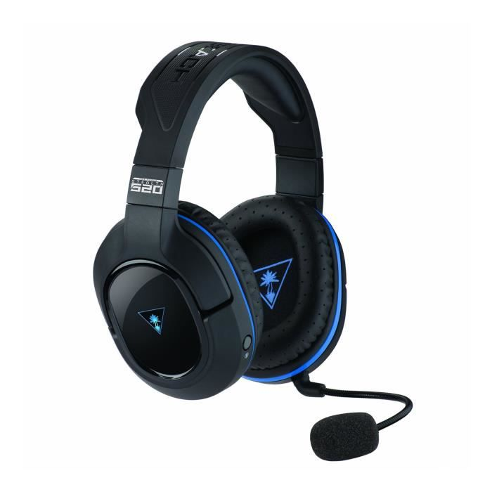 turtle beach micro casque gamer stealth 520 p sans fil. Black Bedroom Furniture Sets. Home Design Ideas