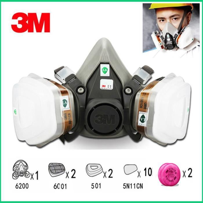 demi-masque 3m 6200
