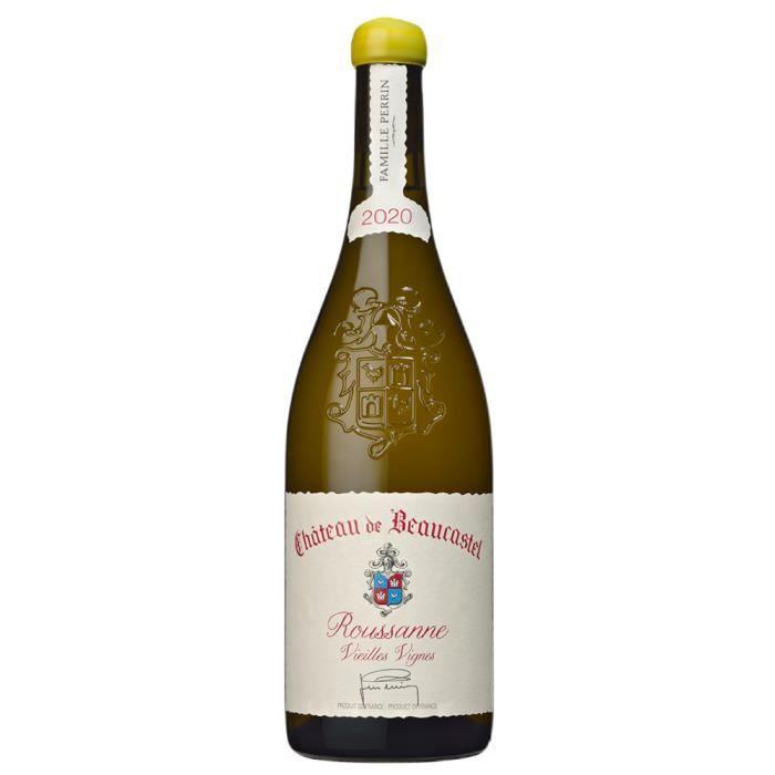 Château de Beaucastel - Châteauneuf-du-Pape - Roussanne Vieilles Vignes - Vin Blanc - 2019 - 75cl