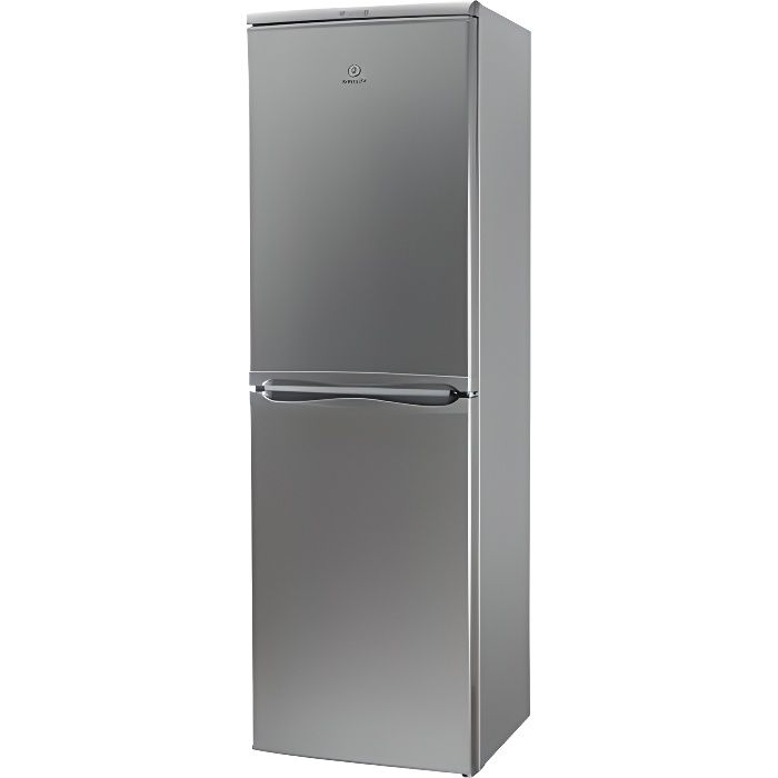 INDESIT Réfrigérateur Combiné CAA55NX Inox