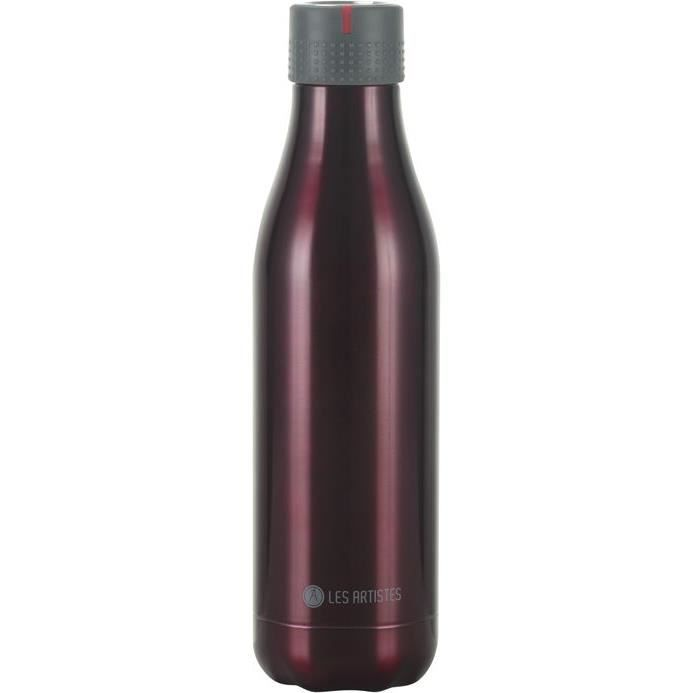 Bottle up isotherm pourpre mat 500ml