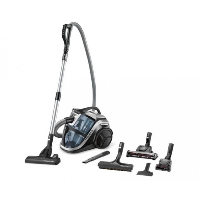 Aspirateur sans sac ROWENTA RO8366EA Silence Force Multi-Cyclonic Animal