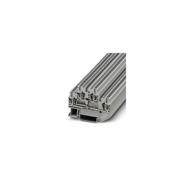Bloc de jonction à ressort à 2 étages (L x l x H) 67.5 x 4,2 x 55 mm 500 V 17.5 A Contenu: 50 pc(s) Phoenix Contact 3031