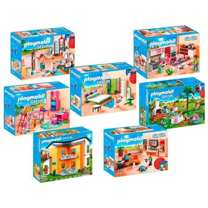 PLAYMOBIL 9266_9272 Maison moderne