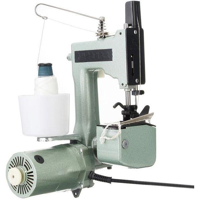 TEMPSA 110V-220V Électrique Machine à Coudre Fermeture Sac Scellage Tisser Couture Portable PRISE AU