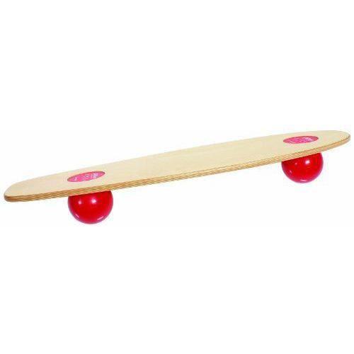 Togu 440410 Planche d`équilibre Balanza Freeride Couleur bois/rouge - 03324