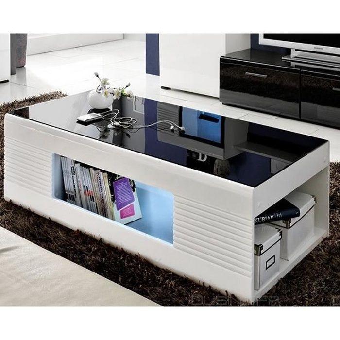 Table Basse Led Design Achat Vente Pas Cher