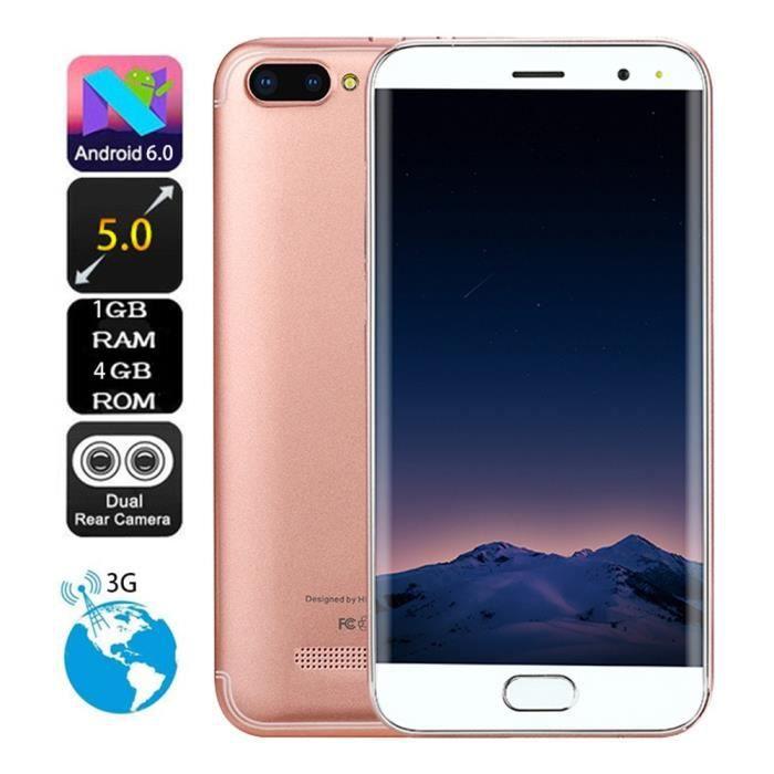 Téléphone portable Téléphone portable d'Appel d'Android 6.0 1G + 4G G