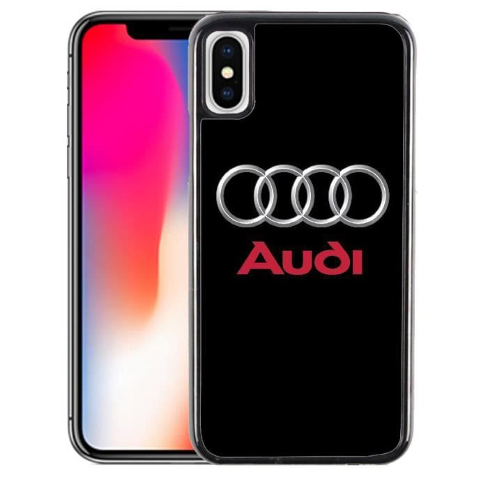 iphone x coque audi
