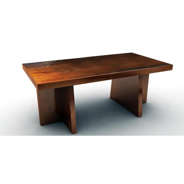 Table manger table de salle manger rectangulaire en for Table de salle a manger en teck