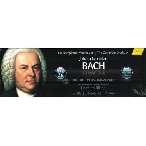 CD MUSIQUE CLASSIQUE J.S. Bach - The Complete Works of J.S. Bach