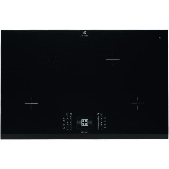 electrolux table de cuisson induction 80 cm 4 foyers electrom nager. Black Bedroom Furniture Sets. Home Design Ideas