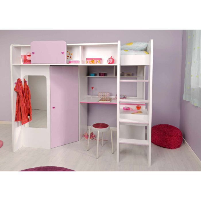 lit sur lev enfant melody achat vente lit complet lit sur lev enfant melody cdiscount. Black Bedroom Furniture Sets. Home Design Ideas