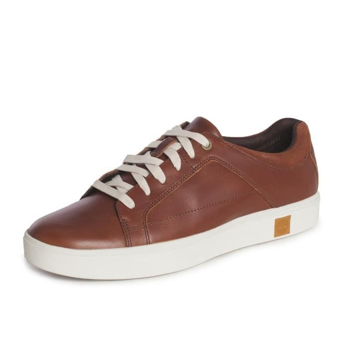 TIMBERLAND Basket AMHERST OXFORD Marron