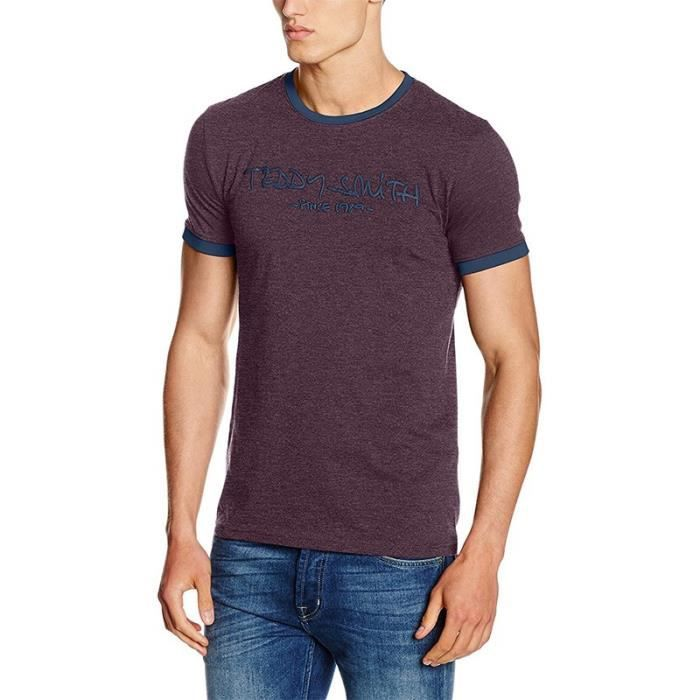 2671f5394744 tee-shirt-ticlass-3-homme-bordeaux-teddy-smith.jpg