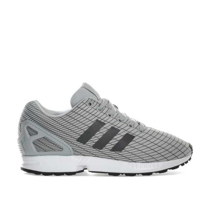 adidas originals baskets zx flux homme gris