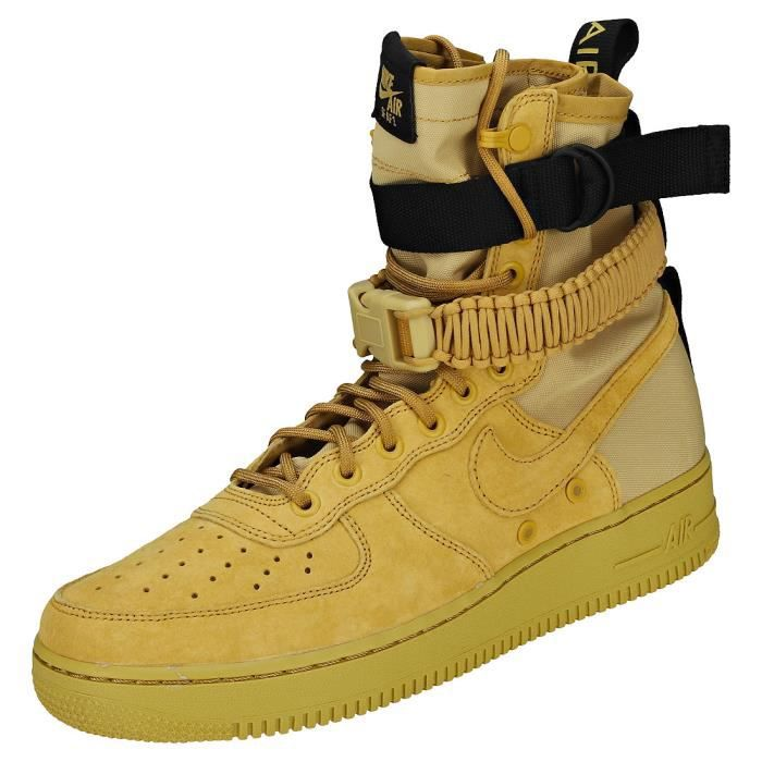 Achat Af1 Jaune Nike Baskets Vente Or Sf Basket Cdiscount Homme wOP08Xnk