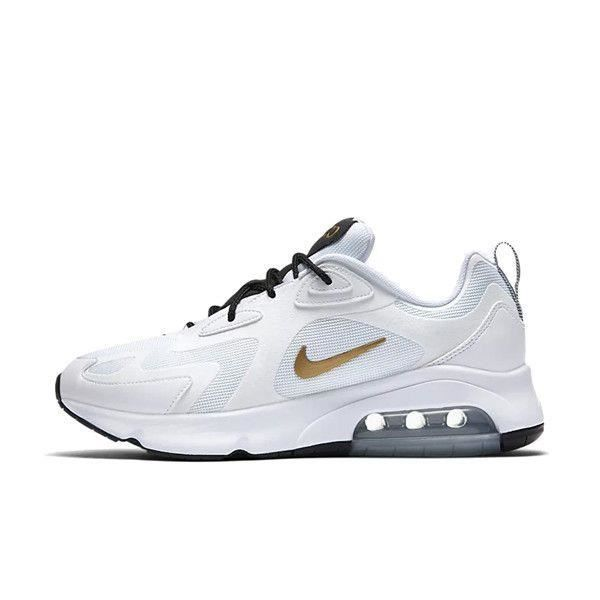 Basket Nike Air Max 200 Ref.AQ2568 102 Or blanc Achat