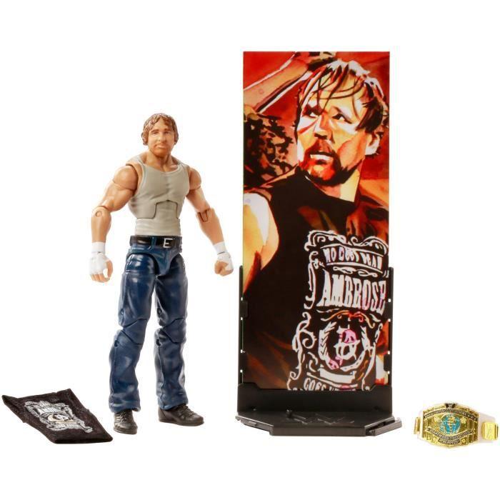 WWE Tough Talkers Seth Rollins /& AJ styles de figurines Lot de 2 NEUF