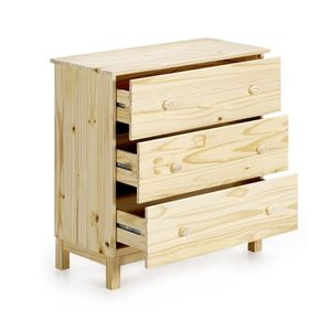 commodes en bois brut achat vente commodes en bois. Black Bedroom Furniture Sets. Home Design Ideas