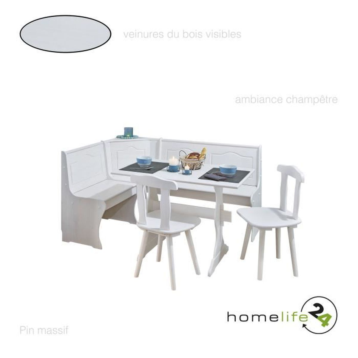 table et banc salle a manger achat vente pas cher. Black Bedroom Furniture Sets. Home Design Ideas