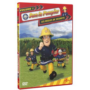 DVD DESSIN ANIMÉ DVD Sam le pompier, vol. 1 : les règles de sécu...
