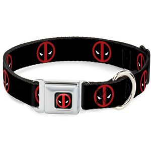 COLLIER Collier Chien Marvel: Logo Deadpool