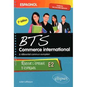 MANUEL BTS Espagnol BTS commerce international à référentiel