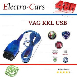 OUTIL DE DIAGNOSTIC INTERFACE DE DIAGNOSTIQUE VAG KKL USB AUDI SEAT SK