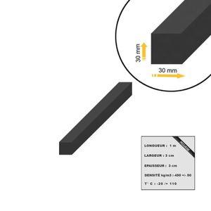 0,5 cm Auto-adhésif Coussin de siège caoutchouc spongieux 30 x 30 cm-épaisseur
