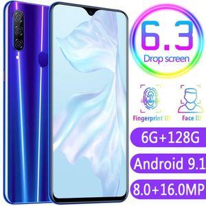 SMARTPHONE D'or P35 smartphones 6.3