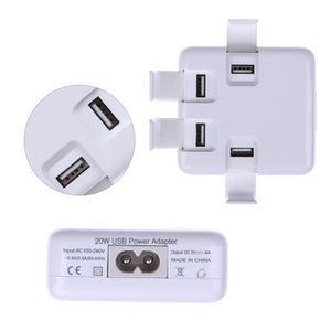 CHARGEUR TÉLÉPHONE 4 port USB Adaptateur secteur USB Chargeur Dock Mu
