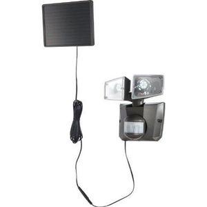 LAMPE DE JARDIN  Globo Lighting Projecteur solaire - Plastique gris