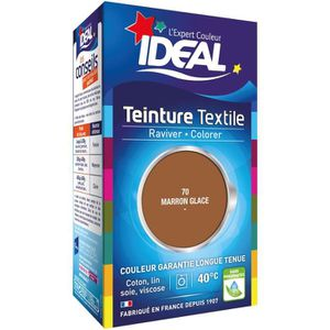 TEINTURE TEXTILE Teinture Tissu Idéal liquide Marron glacé 70 mini