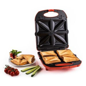 GRILL ÉLECTRIQUE Klarstein Trinity Sandwich Maker - Grill 3-en-1 :