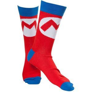 CHAUSSETTES Chaussette Adulte Nintendo - Mario Bros: Mark - Ro